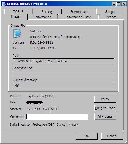 ProceXP Process Info